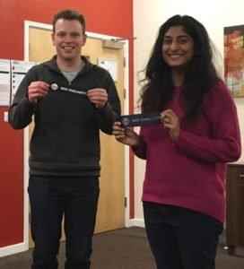 Lincoln and Sireesha - Best Evaluators